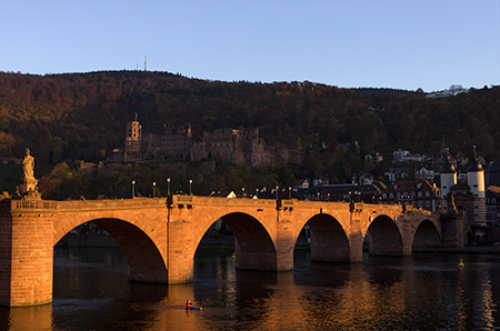 Heidelberg, old bridge