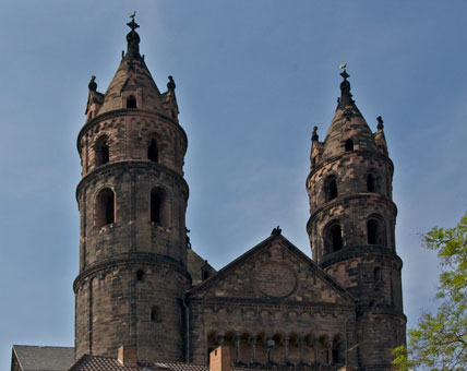 Der romanische Kaiserdom in Worms